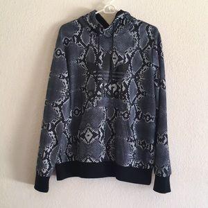 Adidas Snakeskin Hoodie Sweater in Size XL